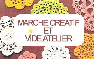 Marché créatif et vide-atelier