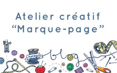 Atelier créatif «Marque-page»