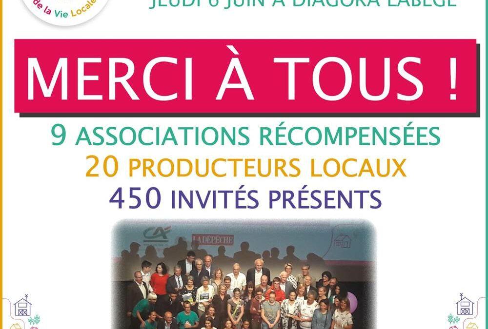Premier Prix Culture / Patrimoine aux Trophées de la Vie Locale du CA31